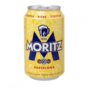Pack de 6 unidades de Cerveza Moritz en Lata