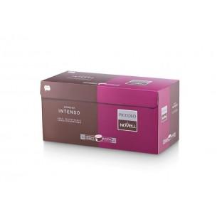 Cápsulas de café intenso biodegradables Novell - 50 Cápsulas