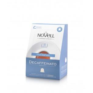 Cápsulas de café descaffeinato compatibles - 10 ud