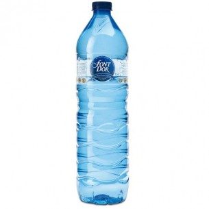 Font d'Or Agua Mineral Natural PET 1,5L - 12 ud.