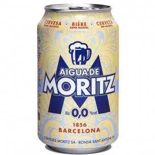 Agua de Moritz 0,33L - 6 latas