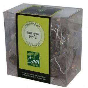 Té Energía Pura en bolsas piramidales - 15 ud