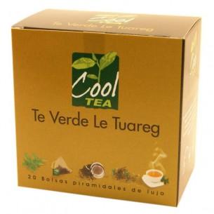 Té Verde Le Touareg en bolsas piramidales - 20 ud