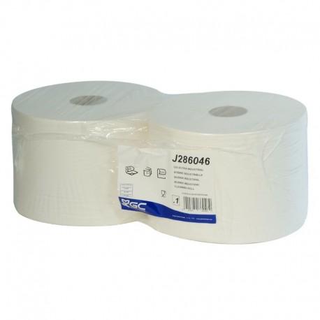 Papel secamanos industrial - 2 bobinas