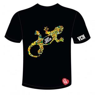 Camiseta Vichy Catlán Gaudí Color Negro