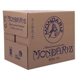 Mondariz Agua Mineral Natural vidrio 0,75L - 15 ud