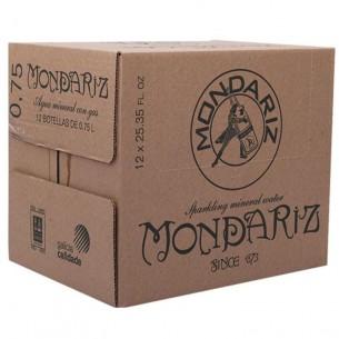 Mondariz Agua con Gas vidrio 0,75L - 15 ud