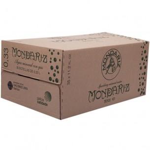 Caja de 35 de Agua Con Gas Mondariz de 0,33l.