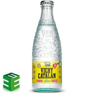Caja de 24 de Vichy Catalán Lemon Retornable