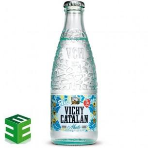 Caja de 24 de Vichy Catalán Menta Retornable
