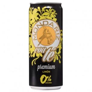 Mondariz Premium Té Limón lata 0,33L - 24 ud