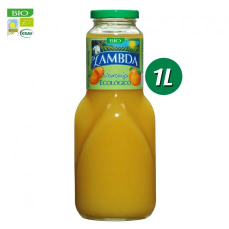 Pack de 6 de Lambda Bio de Naranja de 1l
