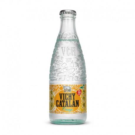 Vichy Catalan Orange vidrio 0,25L - 6 ud