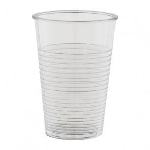 Vasos de plástico transparente - 500 ud