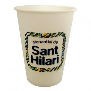 Vasos de Papel Sant Hilari de 210ml - 100 ud