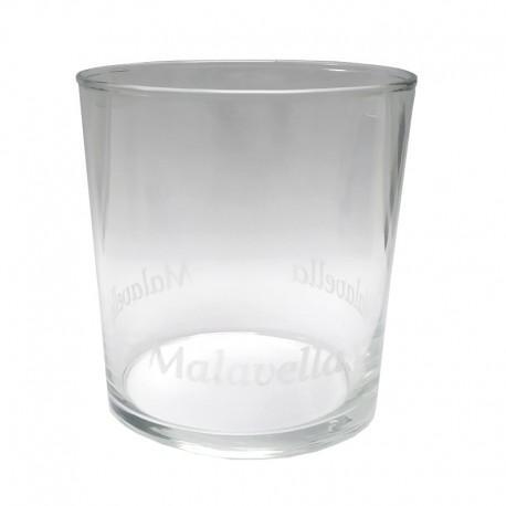Malavella Vasos de Cristal Serigrafiados - 6 ud