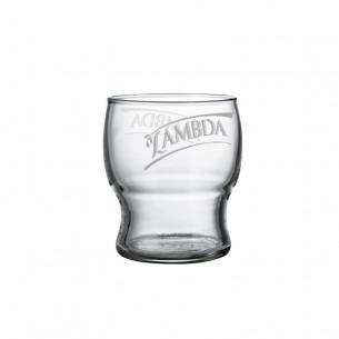 Lambda Vasos de Cristal Serigrafiados - 6 ud