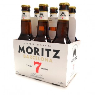 Cerveza Moritz 7 Premium