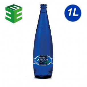 Monte Pinos Agua Mineral Natural 1L - 12 ud
