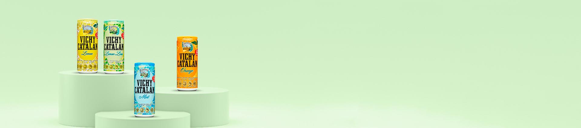 Comprar Agua con Sabores de Vichy Catalán sin azúcar