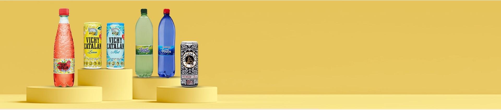 Comprar Agua con sabor 0% azucar - Con Garantía Vichy Catalán